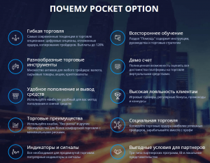 Pocket Option - брокер бинарных опционов